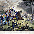 Battle Of Chantlly, 1862 by Granger