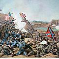 Battle Of Franklin, 1864 by Granger