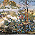 Battle Of Lookout Mount by Granger