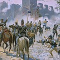 Battle Of Solferino And San Martino by Italian School