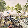 Battle Of Spottsylvania May 1864 by American School