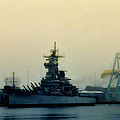 Battleship New Jersey by Bill Cannon