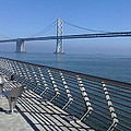 Bay Bridge From New Pier by Nimmi Solomon