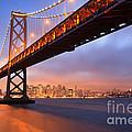 Bay Bridge To San Francisco by Sean Duan