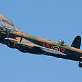 Bbmf Lancaster Bomber 2 by Ken Brannen