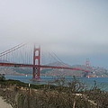 Be In A Mist - Golden Gate Bridge by Christiane Schulze Art And Photography