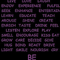 BE by Michael Merry