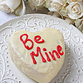 Be Mine Heart Cake by Garry Gay