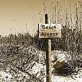 Beach Access by Christine Stonebridge