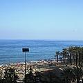 Beach At Costa Del Sol Spain by John Shiron