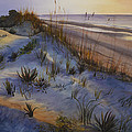 Beach At Dusk by Toni Roark