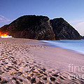 Beach At Evening by Carlos Caetano