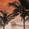 Beach Belize by Bruce Bain