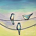 Beach Birds by Elizabeth Robinette Tyndall