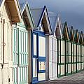 Beach Cabins by Sylvain Cordier