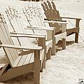 Beach Chairs by Michael Fencik