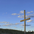 Beach Cross by Terry DeLuco