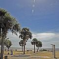 Beach Day After Issac  by G Adam Orosco