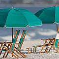 Beach Furniture I by Clarence Holmes