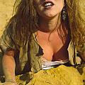 Beach Girl by Franz Roth