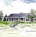 The Little House On East Beach by Joan Hartenstein