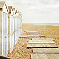 Beach Huts by larigan - Patricia Hamilton