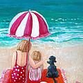 Beach I by Jo Roffe