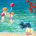 Beach II by Jo Roffe