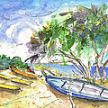 Beach In Ayia Napa by Miki De Goodaboom