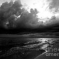 Beach In Black And White by Jeff Breiman