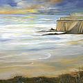 Beach On Highway One by Max Mckenzie