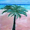 Beach Palm by Lisa Baack