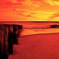 Beach Scene by Paul Ward