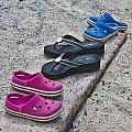 Beach Shoes by Betsy Knapp
