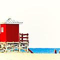 Beach Stroll by Stephen Warren