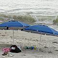 Beach Umbrells 40 by Joyce StJames