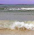 Beach Waves by Gord Patterson