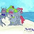 Beached Ladies by Lizi Beard-Ward