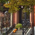 Beacon Hill Doorway by Joann Vitali