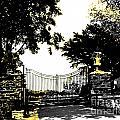 Beacon Rock Gate Newport Ri by Lizi Beard-Ward