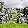 Beam Engine House Remains At Magpie Mine - Sheldon by Rod Johnson