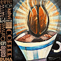 Bean Coffee Languages Poster by Tim Nyberg