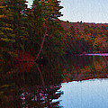 Bear Creek Lake In The Poconos by Bill Cannon
