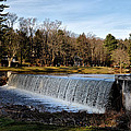 Bear Creek Lake Waterfall by Bill Cannon