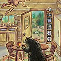Bear In The Kitchen - Dream Series 7 by Dawn Senior-Trask