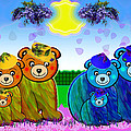 Bears by Victoria Regueira