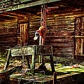 Beaten Down Barn Building by Trudy Wilkerson