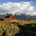 Beautiful Barn Grand Teton  by Paul Cannon