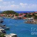 Beautiful Gustavia by Karen Wiles