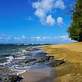 Beautiful Kee Beach by John Greaves